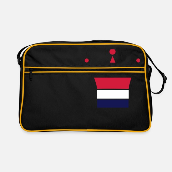 Netherlands Bags & Backpacks - Netherlands - Retro Bag black/gold