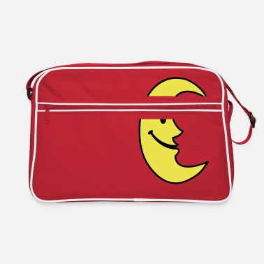 Planet Smiley Moon - Retro Bag