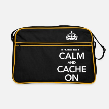 Cache Keep Calm And Cache On - Retrolaukku