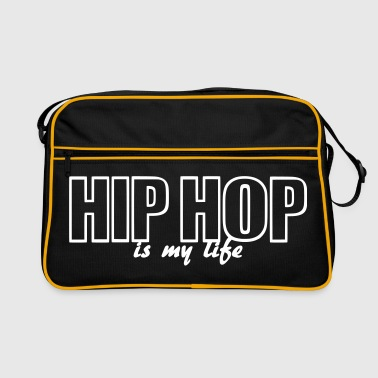 hip hop is my life - Borsa retrò