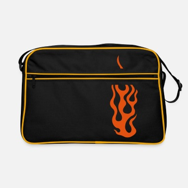 Cool flames 3 - Retro Bag