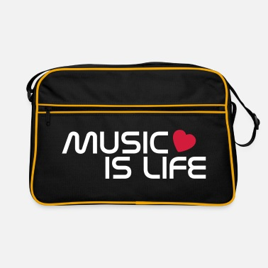 Music Is Life music is life heart FI - Retrolaukku