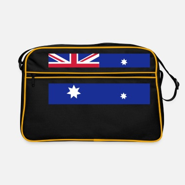 Aussie Australian Flag - Retro Bag