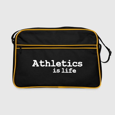athletics is life - Retro-tas