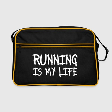 running is my life - Retro-tas