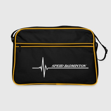 Speed Badminton - Retro Tasche