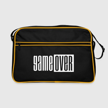 Game over deluxe - Retro veske