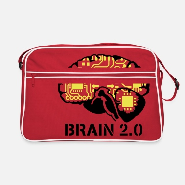 Cyborg brain 2.0 - Retro Bag