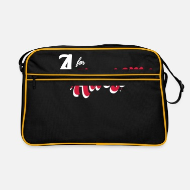 Awesome A for Awesome - Retro Bag