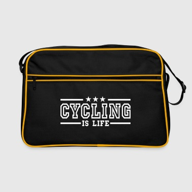 cycling is life deluxe - Retro veske
