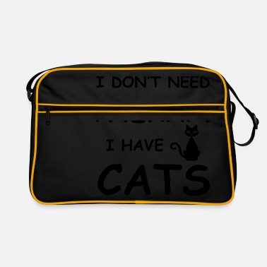 therapy cats - Retrotasche