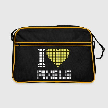 I Love Pixels - Torba retro