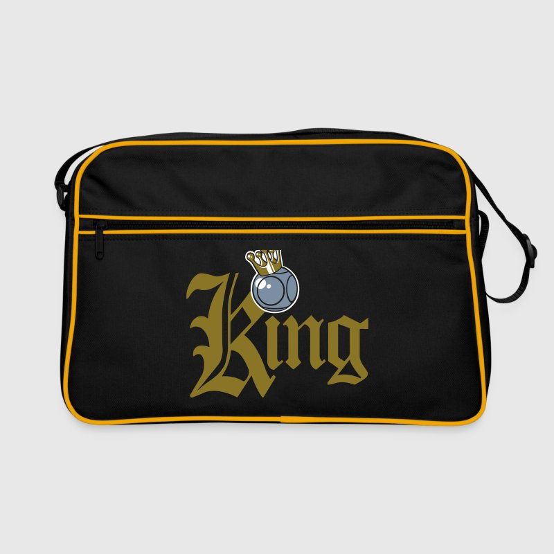 King pétanque typo - Sac Retro