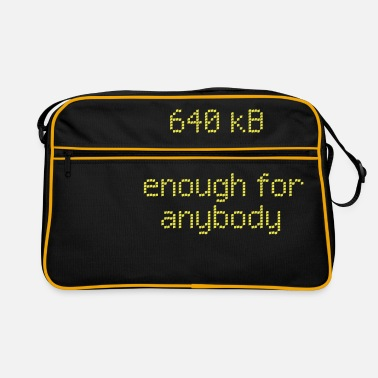 Lol 640 kB for anybody - Retro Bag