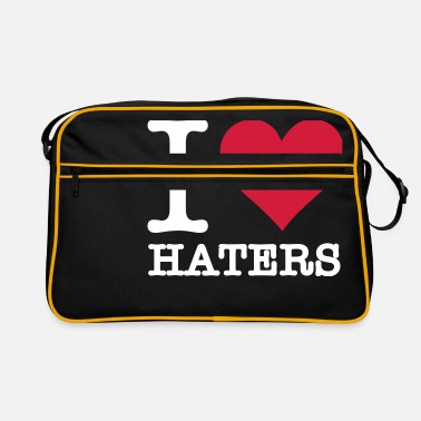I Love Haters I Love Haters - Retro Bag
