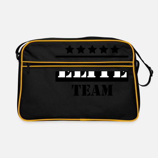 Team Bags & Backpacks - Elite team - Retro Bag black/gold