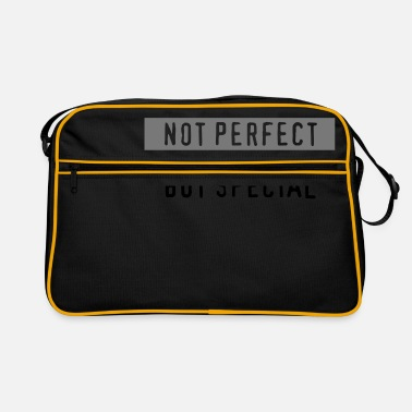 Not Perfect not perfect - Retro Bag