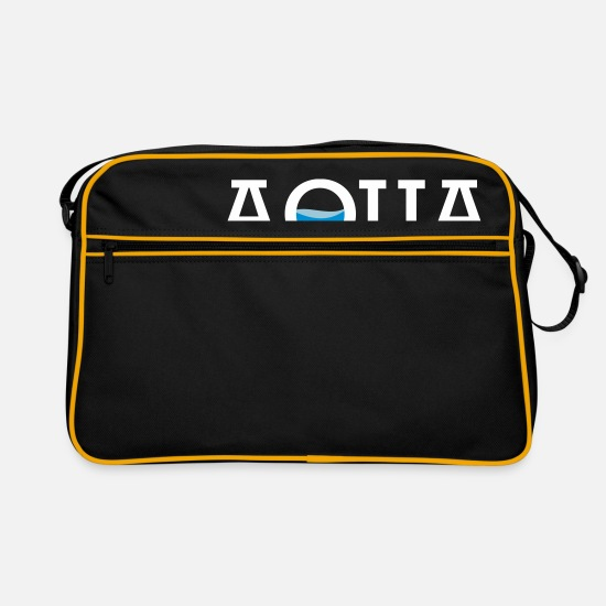 Icon Bags & Backpacks - Water - Retro Bag black/gold