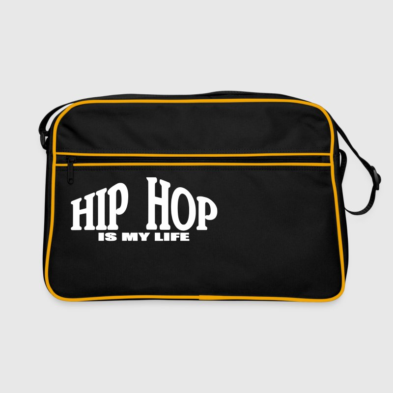 hip hop is my life - Retro Bag