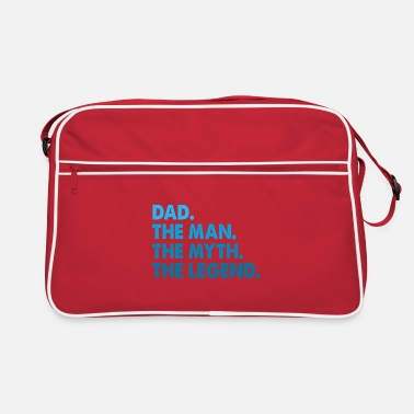 For Dad Favourite Dad. Best Dad. Gifts for Dads. Daddy. - Retro Bag