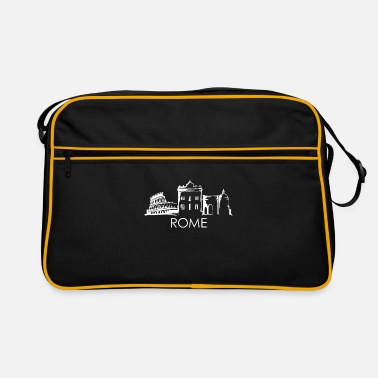 Reminder Rome skyline - Retro Bag