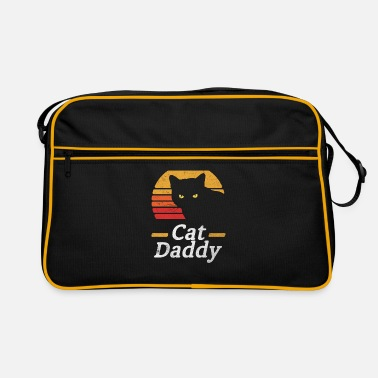 Style Cat Daddy Vintage Eighties Style Cat Retro Distres - Retro Bag