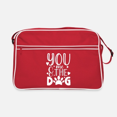 Russel You me and the dog for a dog owner / - Retro Bag