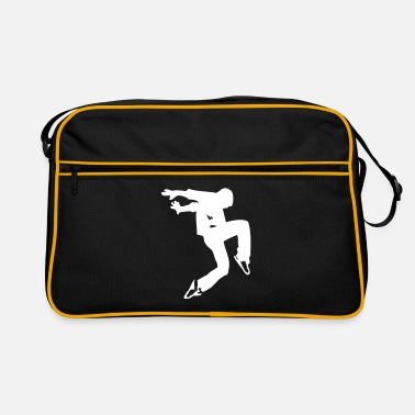 De Luxe break dance luxe - Retro taske