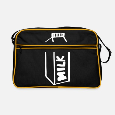 Milk Milk milk - Retro Bag