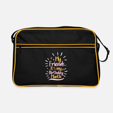 Month Birthday month - Retro Bag