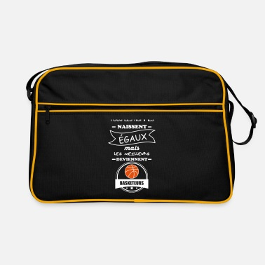 Basket hommes basketeurs,basket,basket-ball - Sac Retro
