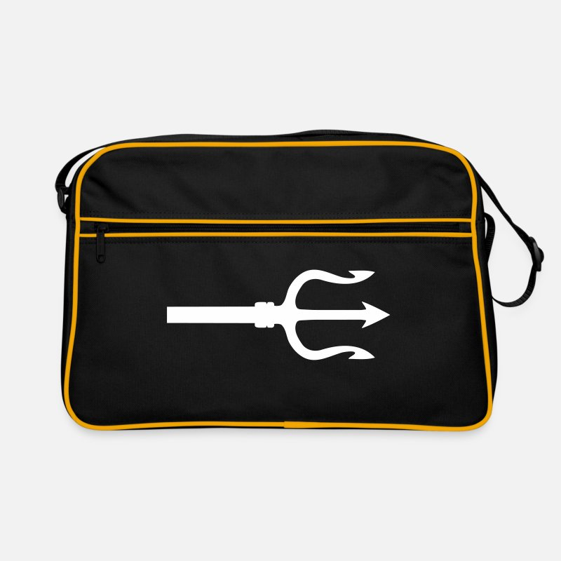 Trident Bags & Backpacks - trident - Retro Bag black/gold