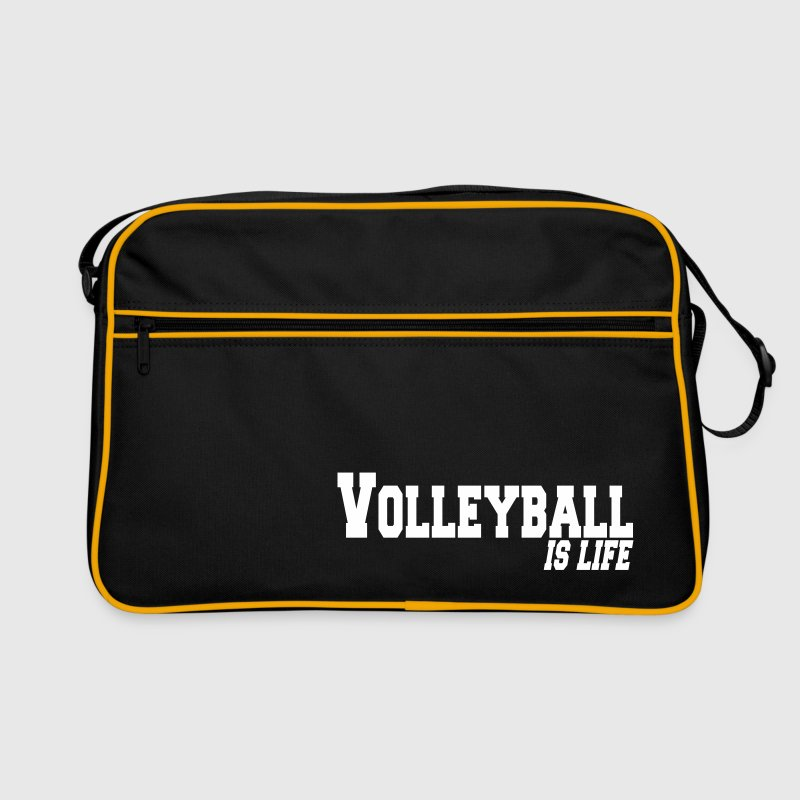 volleyball is life - Retro Bag