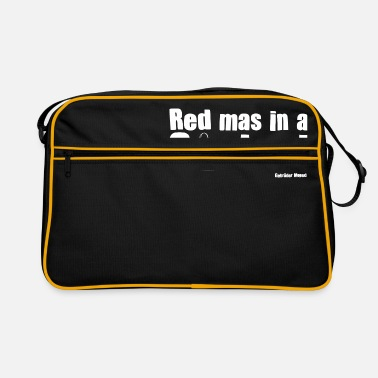 Red mas in a Sackerl - Retrotasche