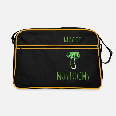 Magic Magic mushrooms magic mushrooms - Retro Bag