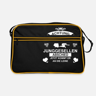 Game Over ACHTUNG Junggeselenabschied - Retrotasche