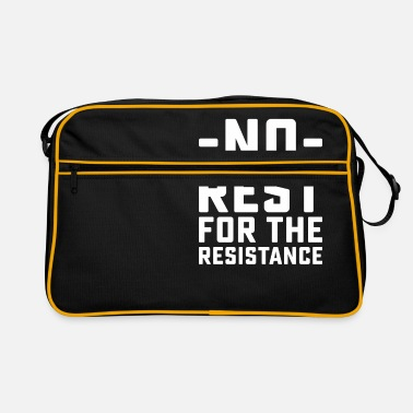Rest No Rest - Retro Bag