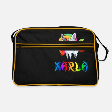 Karla Karla unicorn - Retro Bag
