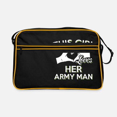 Army US Army Marito regalo Army - Borsa retrò