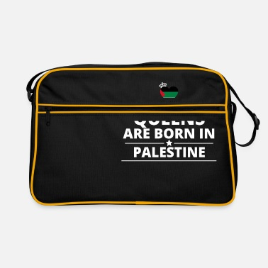 Palestina queens from gift i love PALESTINE PALESTINA - Retro Bag