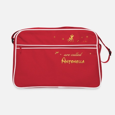 Antonella fee fairies fairy vorname name Antonella - Retrotasche
