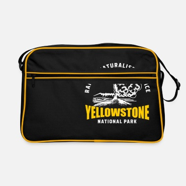 Montana Parc national de Yellowstone Geyser Old Faithful - Sac vintage