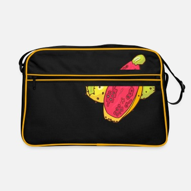 Prickly Prickly pear prickly pear prickly pear - Retro Bag