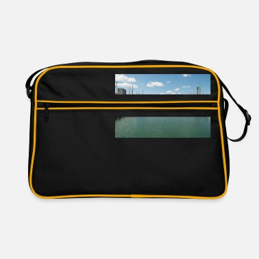 Harbour French Boat harbour - Retro Bag