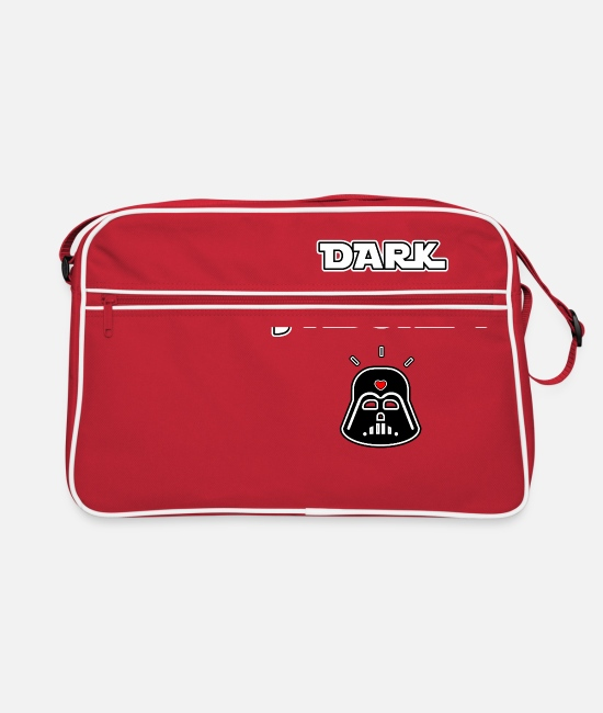 Chewbacca Bags & Backpacks - DARK I LOVE! - WORDS OF WORDS - FRANCOIS VILLE - Retro Bag red/white