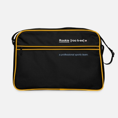 Rookie Rookie Definition - Retro Bag
