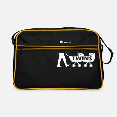 The Walking Dad Zwillinge The Walking Twins - Retrotasche