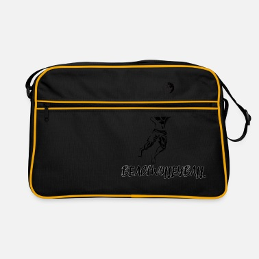 Beach Volleyball Beach volleyball - beach volleyball - volleyball - Retro Bag