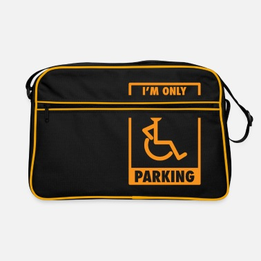 Car Parking Funny Sarcasm Street Parking - Retro Bag
