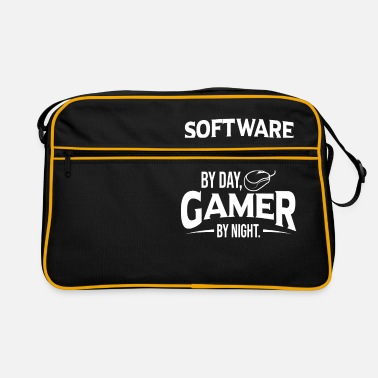 Software Engineer Gamer Shirt Console Lover Gift - Retro Bag